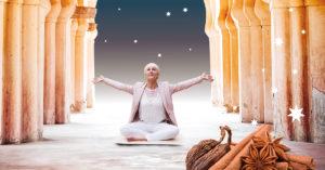 juleyoga og meditation med pernille